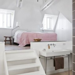 assuming this leads into a bathtub type vibe below, regardless the loft is awesome